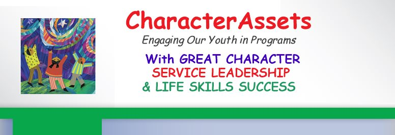 CharacterAssets -    Youth Leadership - Service Learning